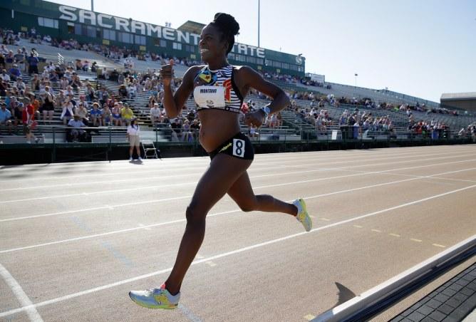 Enceinte de 5 mois, cette marathonienne a couru le 800 mètre lors des championnats des Etats-Unis