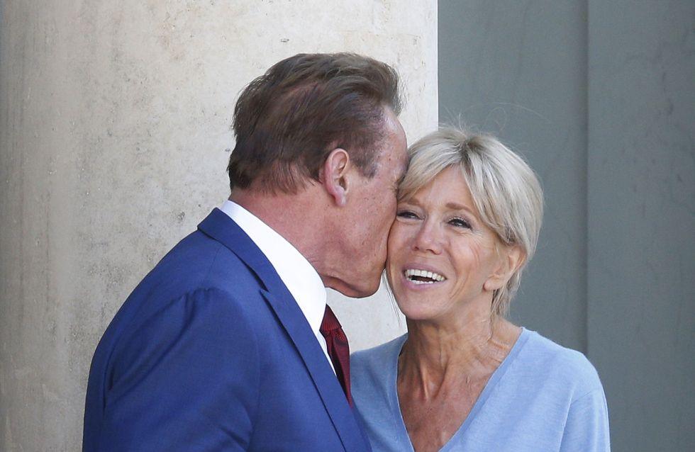 Brigitte Macron, le bleu ciel est définitivement sa couleur préférée ! (Photos)
