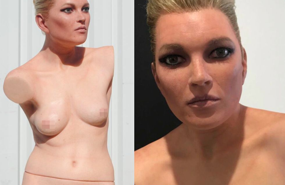 This Topless Kate Moss Waxwork Will Haunt Your Dreams