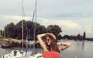 Una sandía como vestido, ¡descubre el nuevo juego de Instagram!