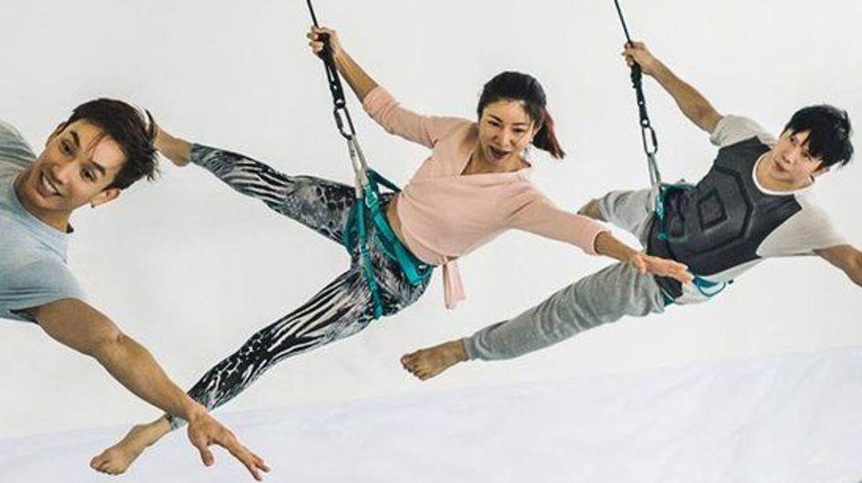 Bungee Workout: descubre el nuevo entrenamiento de moda