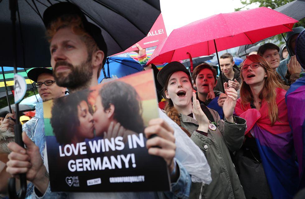 L'Allemagne autorise le mariage pour tous !