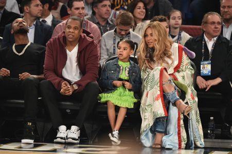 Beyoncé, Jay Z et Blue Ivy