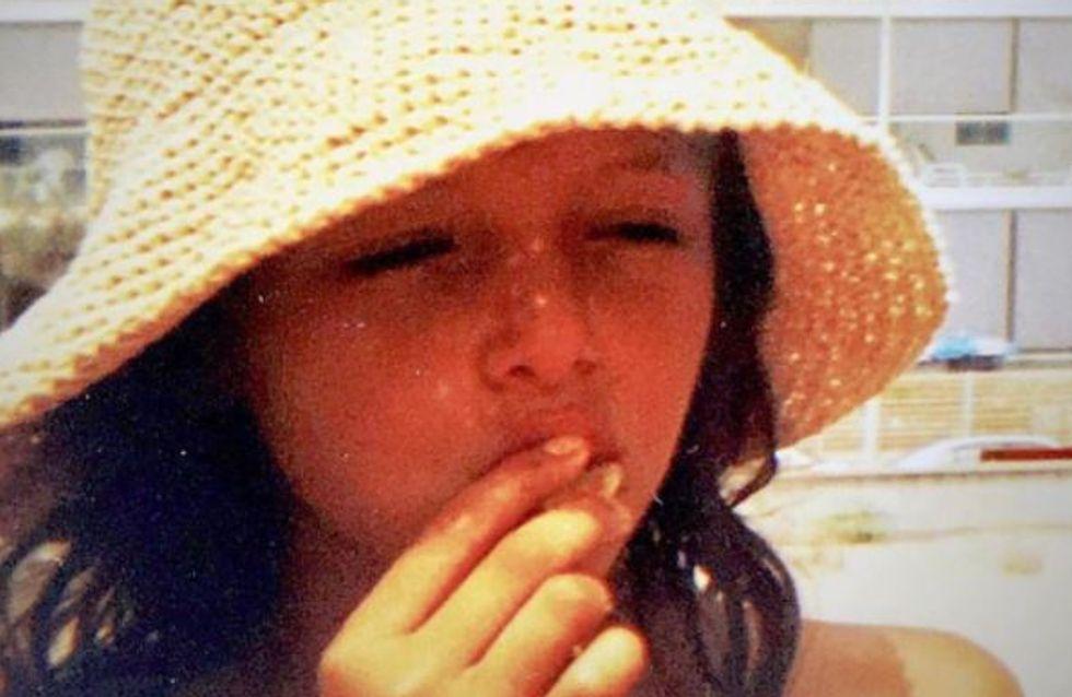 Saurez-vous reconnaître cette petite fille qui se cache sous son chapeau ?