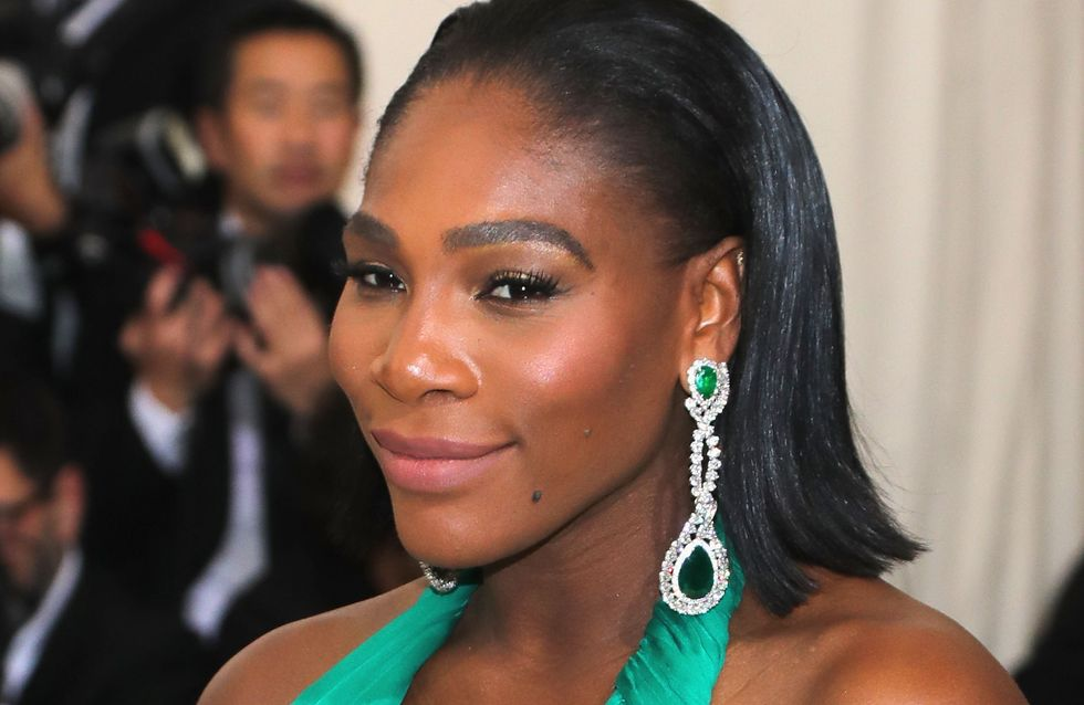 Serena Williams, enceinte et resplendissante en couverture de Vanity Fair (Photos)