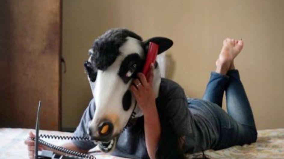 Ces femmes portent des masques de vache pour mener le plus important des combats (Photos)