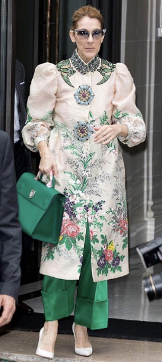 Le look japonisant de Céline Dion