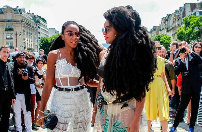 Les jumelles TK Quann et Cipriana Quann