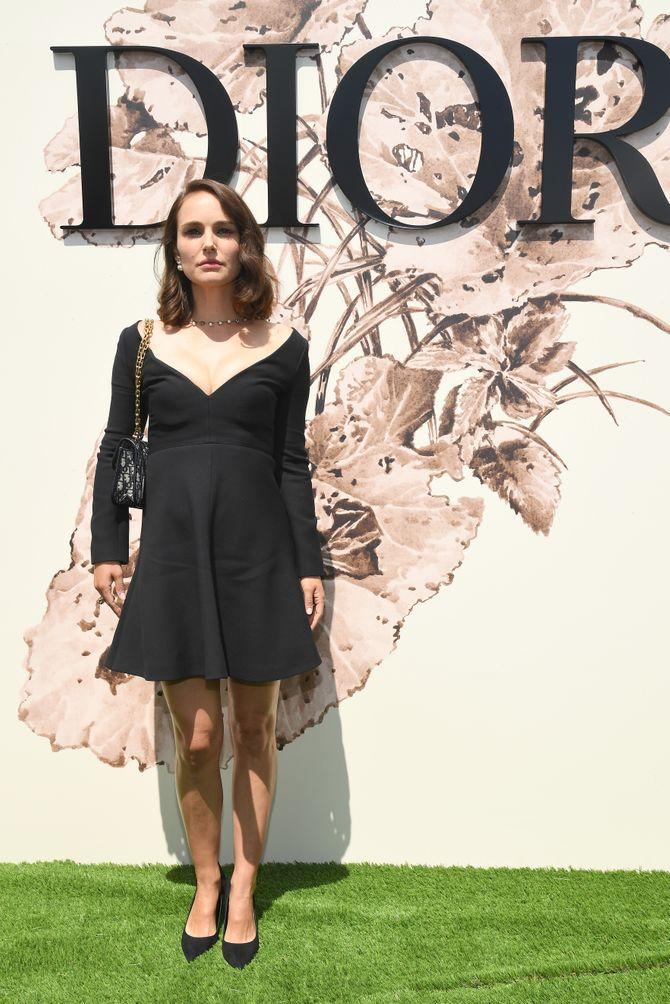 Natalie Portman chez Dior