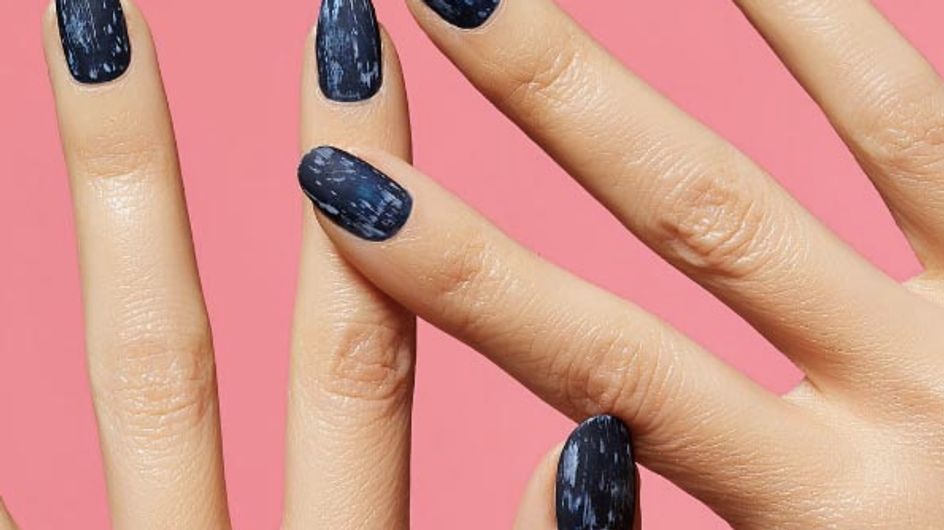 You Can Now Match Your Mani To Your Jeans With Denim Nails