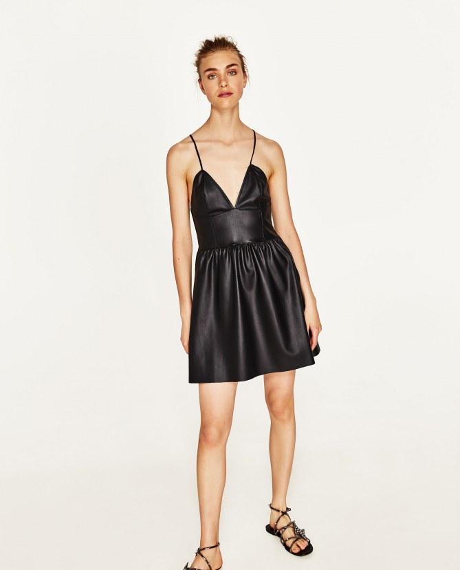 Mini-dress in pelle 15,99€