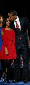 Malia Obama, le 4 novembre 2008