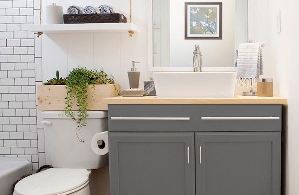 Trucos de organización para baños pequeños. ¡Aprovecha al máximo el espacio!