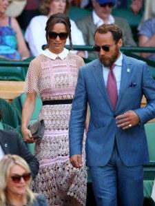 Pippa Middleton à Wimbledon.