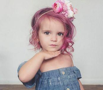 Verantwortungslos oder okay? Mutter färbt ihrer 2-jährigen Tochter die Haare