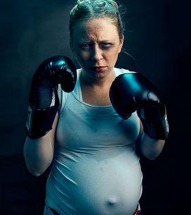 Une femme enceinte ne devrait jamais faire ça (Photos)