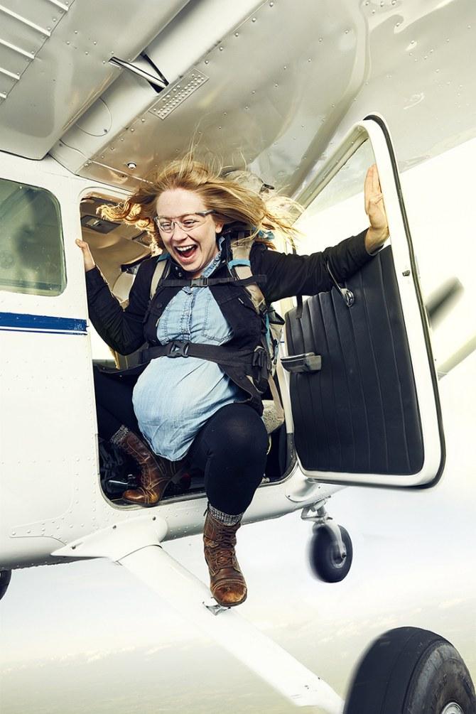 Faire du parachutisme