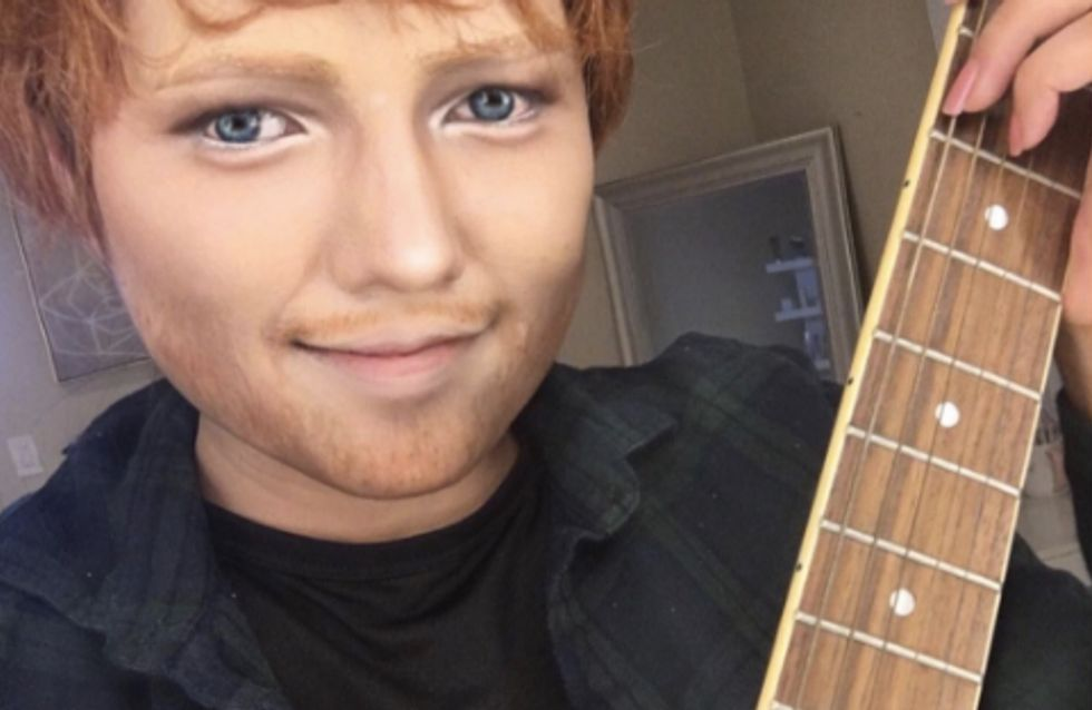 This Woman Transformed Herself Into Ed Sheeran And It's Honestly Insane