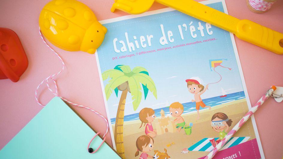 Un super cahier de vacances pour s'amuser tout l'été !