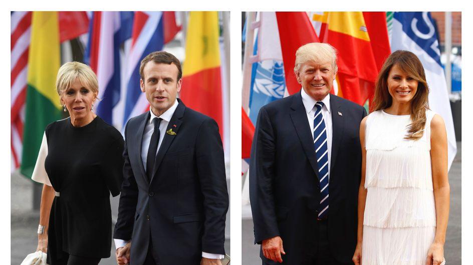 Concours d'élégance entre Brigitte Macron et Melania Trump au G20 (Photos)