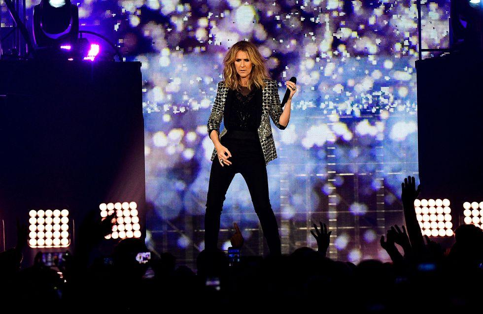 René-Charles et les jumeaux de Céline Dion débarquent sur scène avec leur mère (Vidéo)