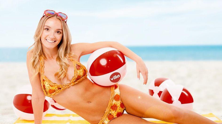 """WTF !? Porter un """"Pizzakini"""" avec de vraies tranches de pepperoni est désormais possible (Photos)"""