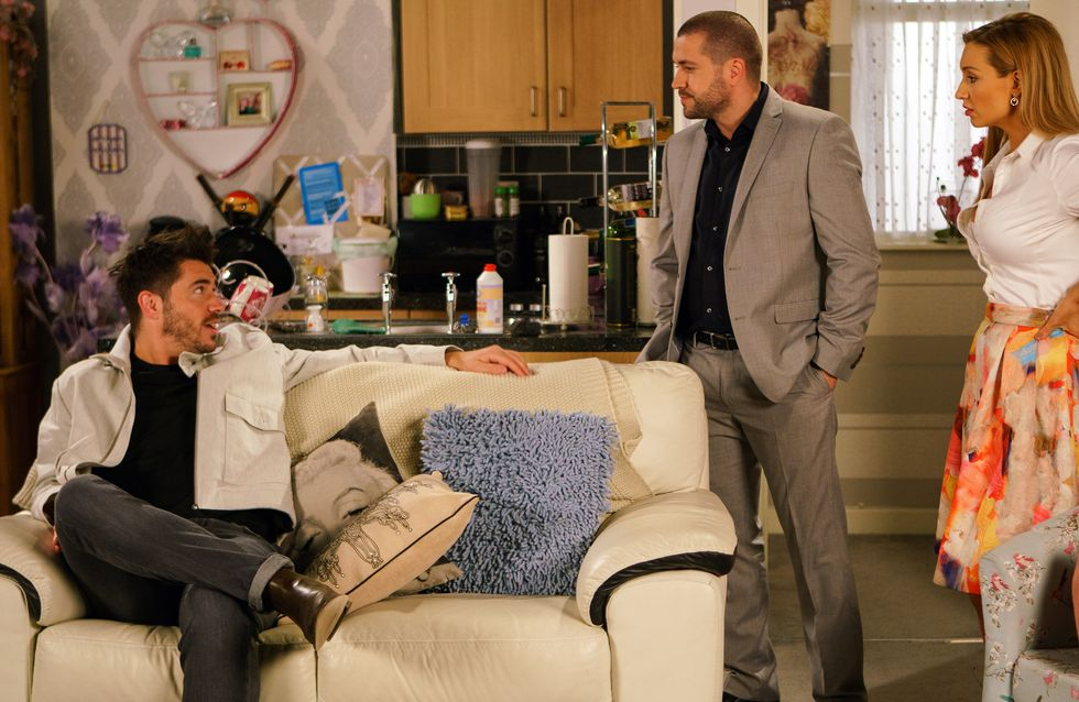 Coronation Street 17/07 - Aiden's Blackmailed By A Desperate Adam