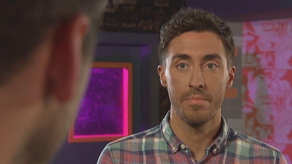 Hollyoaks 17/07 - Damon Is Blissfully Unaware Of Who Scott Is