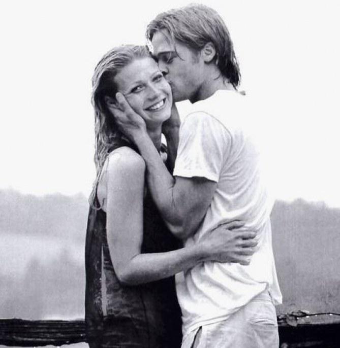 Gwyneth Paltrow and Brad Pit
