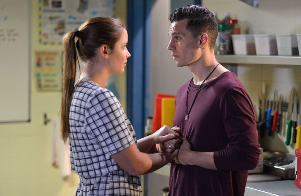Eastenders 17/07 - Steven Avoids Lauren's Questions Over His Shocking News