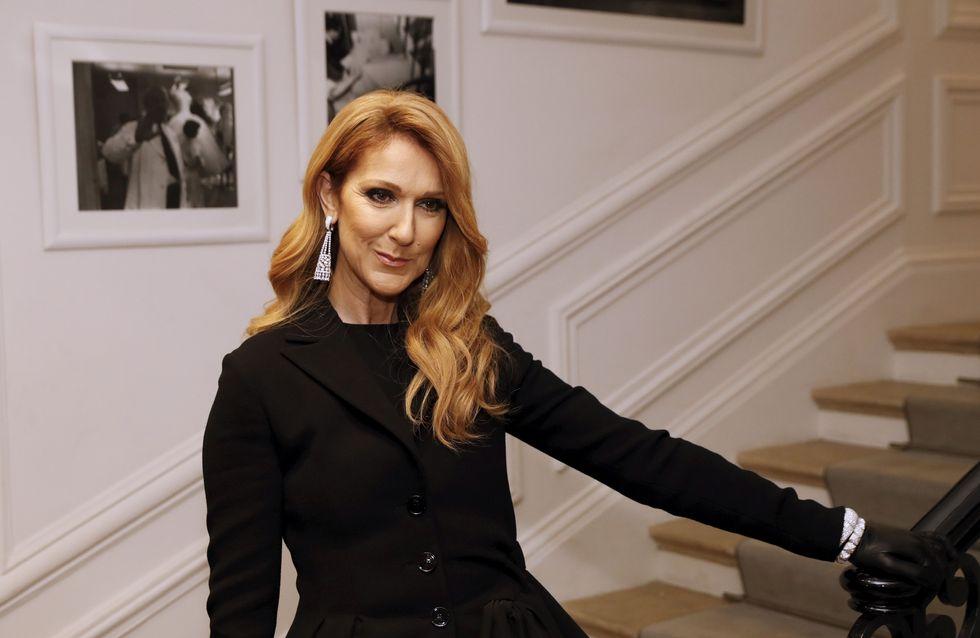 Top en cuir et talons aiguilles, Céline Dion joue les femmes fatales à Paris ! (Photos)