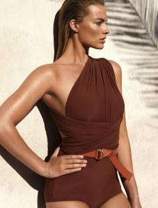 Margot Robbie pour Vogue