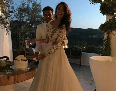 Dani Alves y Joana Sanz
