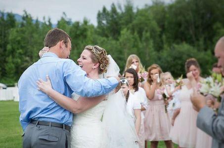 Cette maman qui a perdu son fils a eu la plus belle des surprises à son mariage