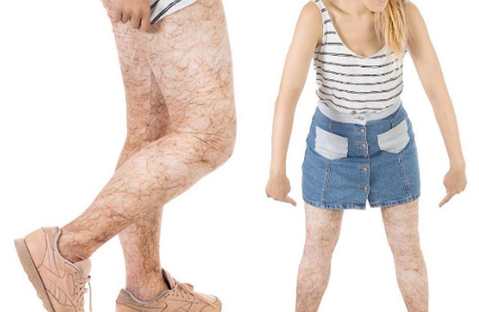 Yup, Hairy Leggings Are Now A Thing