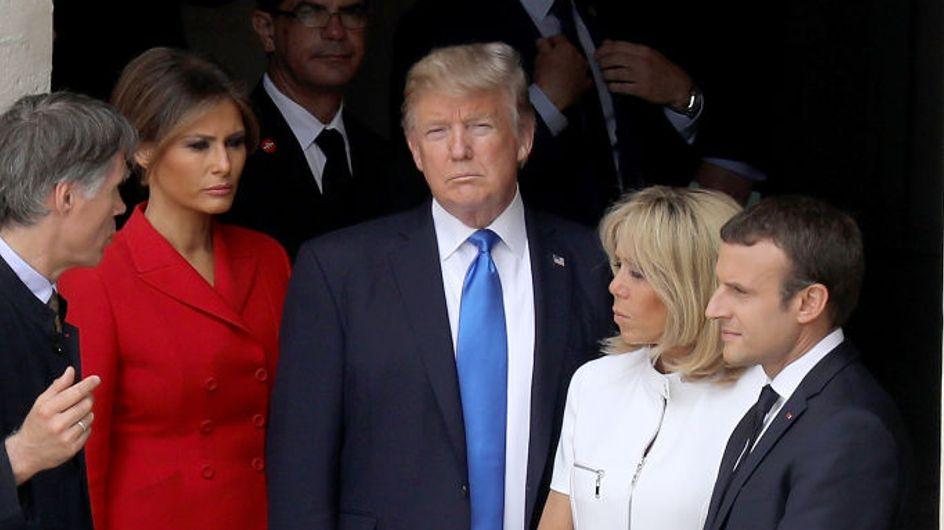 Donald Trump va (encore) trop loin avec sa remarque sexiste envers Brigitte Macron