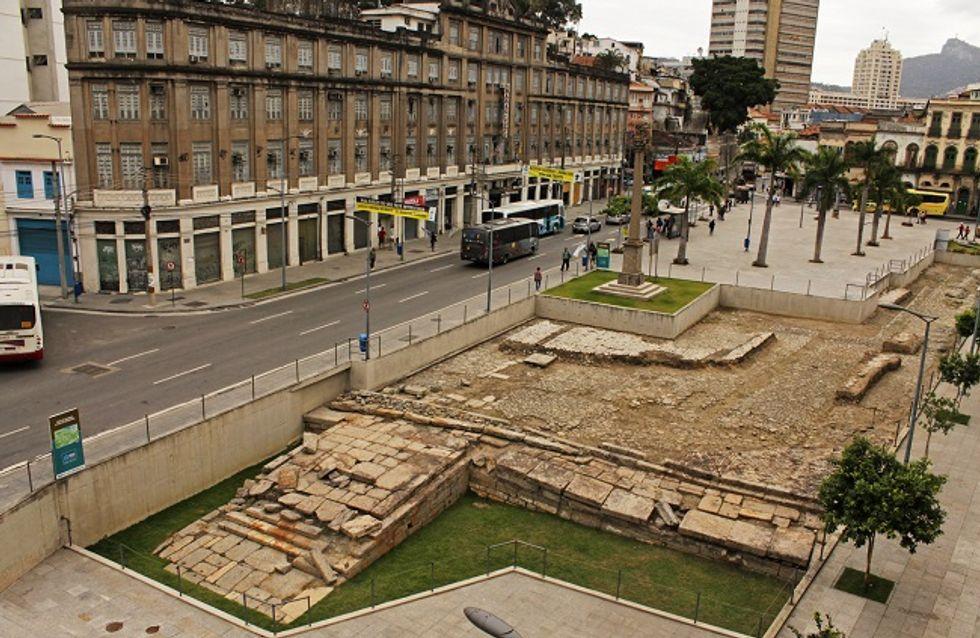 Cais do Valongo, no Rio, é declarado Patrimônio Mundial da Unesco