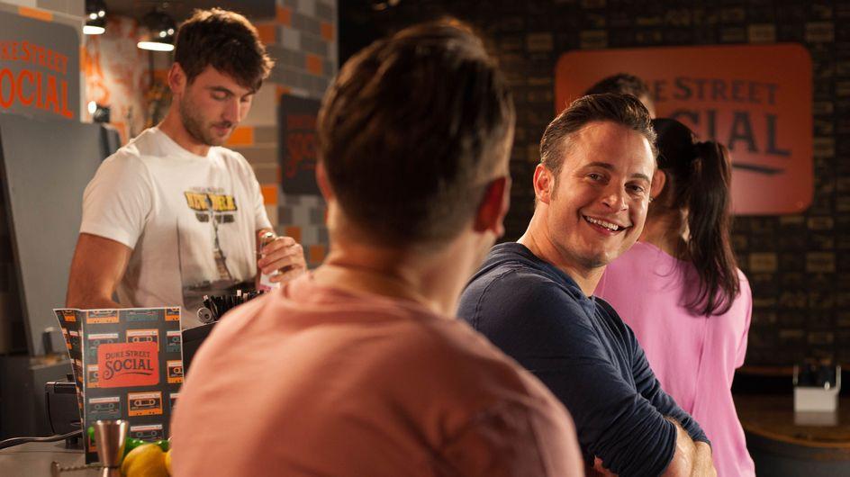 Hollyoaks 24/07 - Darren Bumps Into Old Friend Luke, Who Isn't As Loyal As He Remembers...