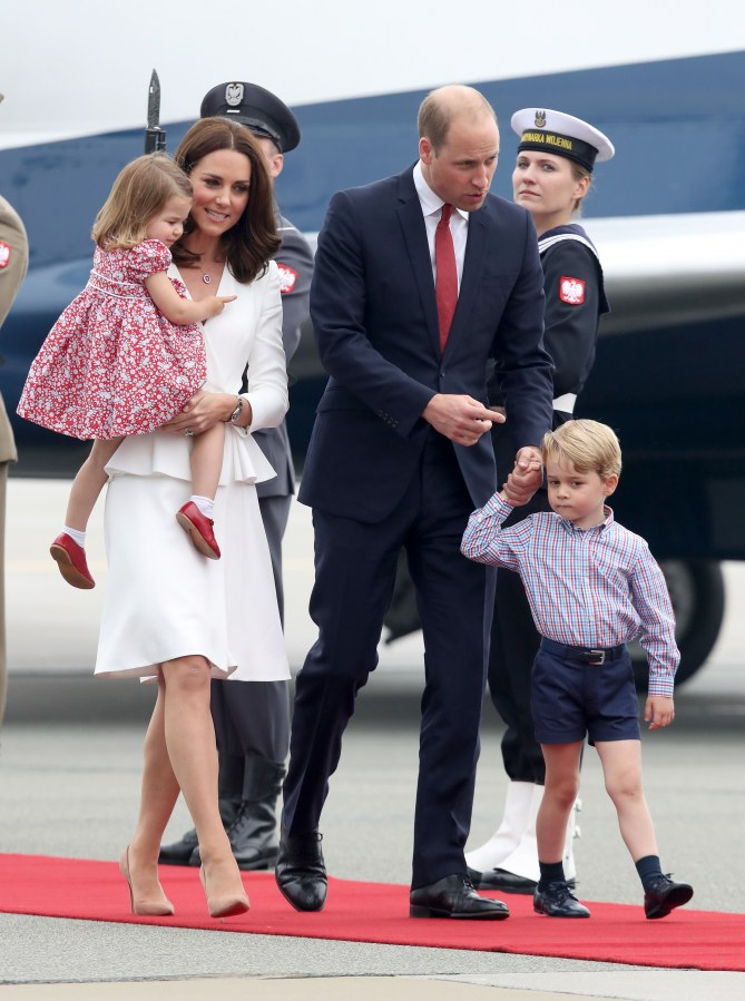 Kate Middleton en Pologne