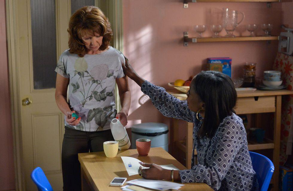 Eastenders 27/07 - Carmel Receives Divorce Papers From Omar
