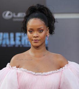 Rihanna fait sensation dans une robe de princesse rose à l'avant-première de Val