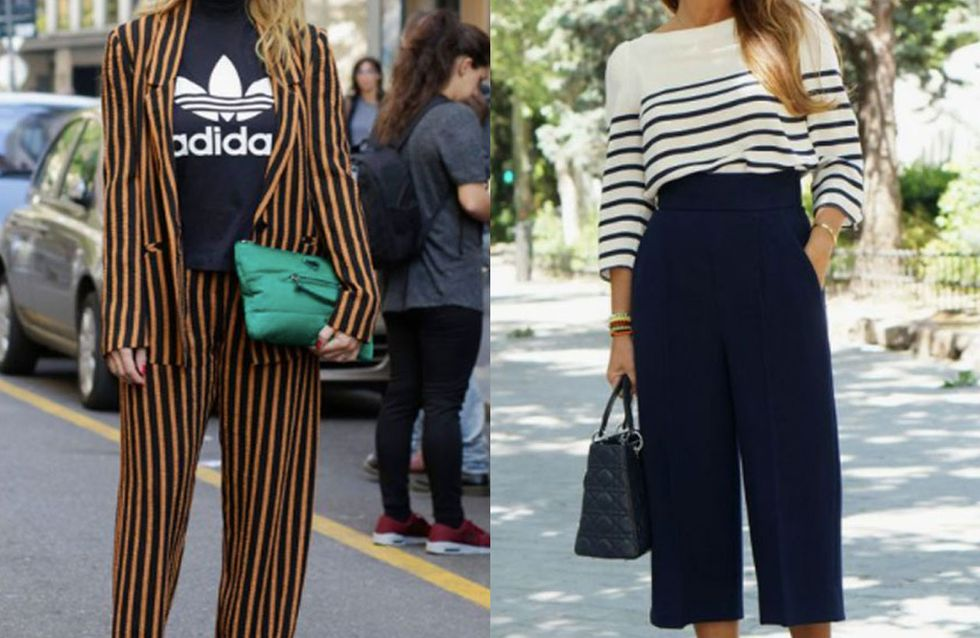 A Lesson In How To Style Stripes Like You're A Jean Paul Gaultier Advert