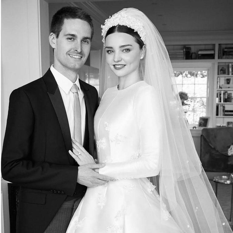 el vestido de novia de miranda kerr inspirado en grace kelly