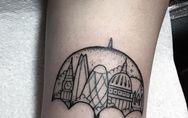 Tatuajes para amantes de la arquitectura