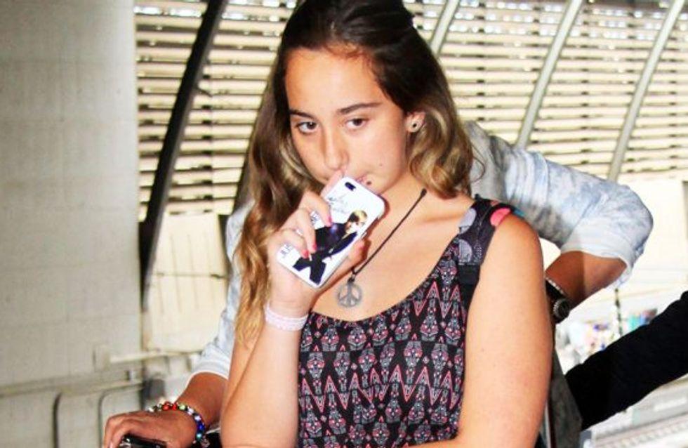 La mayoría de edad de Andrea Janeiro: famosa desde su nacimiento