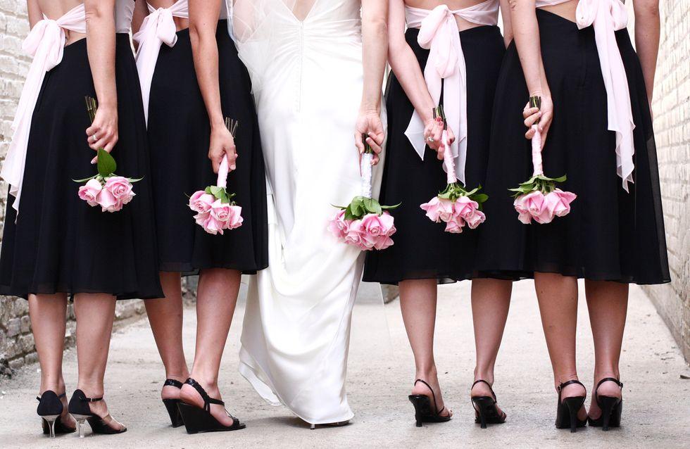Cette mariée refuse que son amie soit demoiselle d'honneur à cause de son poids