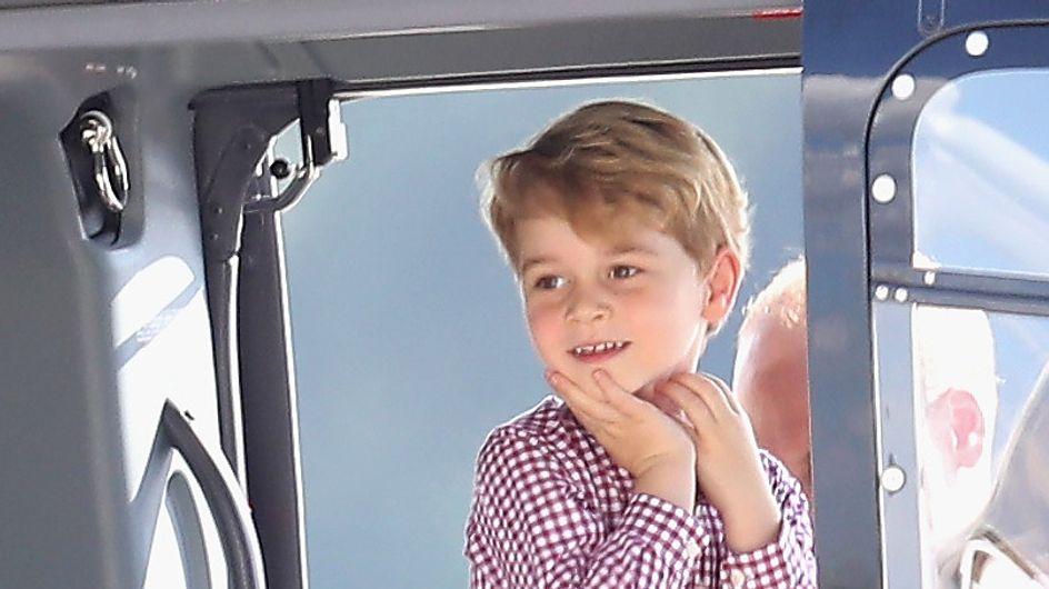 L'adorable nouveau portrait officiel du prince George pour ses 4 ans