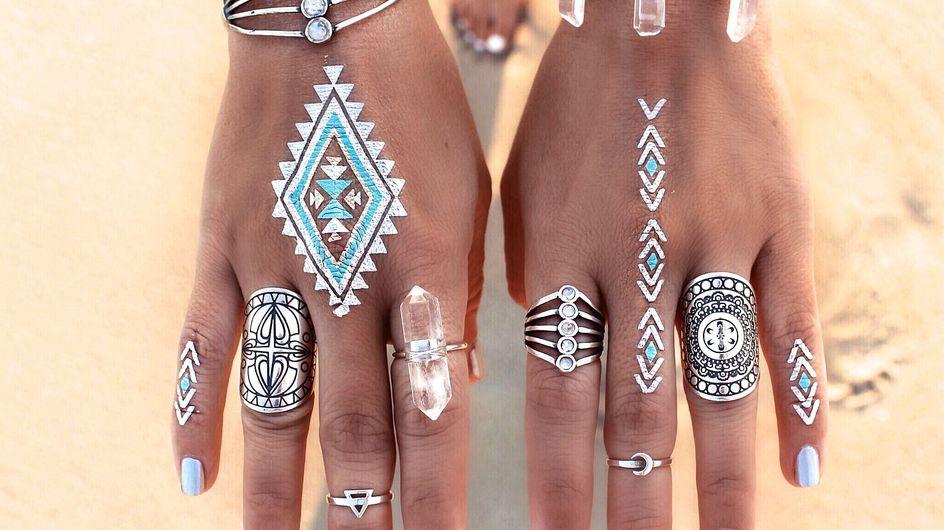 Pimp my skin! Diesen Sommer verzaubern uns fabelhafte Flash-Tattoos