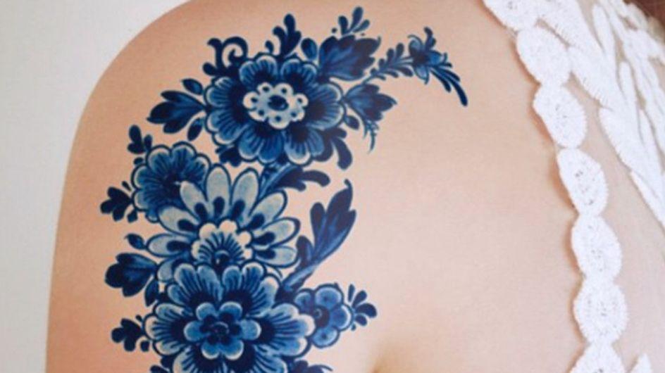 Porzellan-Tattoos: Wir haben den ultimativen Ink-Trend für euch entdeckt!