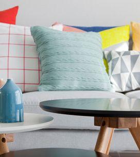 25 cojines estampados para llenar de color tu casa (y morir de amor)